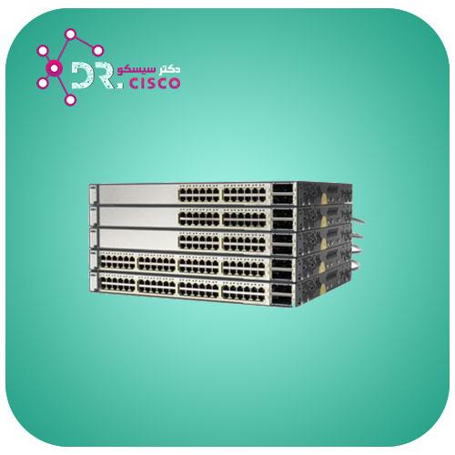 سوئیچ سیسکو CISCO WS-C3750E-24PD-E از محصولات فروشگاه اینترنتی دکتر سیسکو