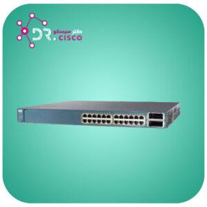 سوئیچ سیسکو CISCO WS-C3560E-24PD-E از محصولات فروشگاه اینترنتی دکتر سیسکو