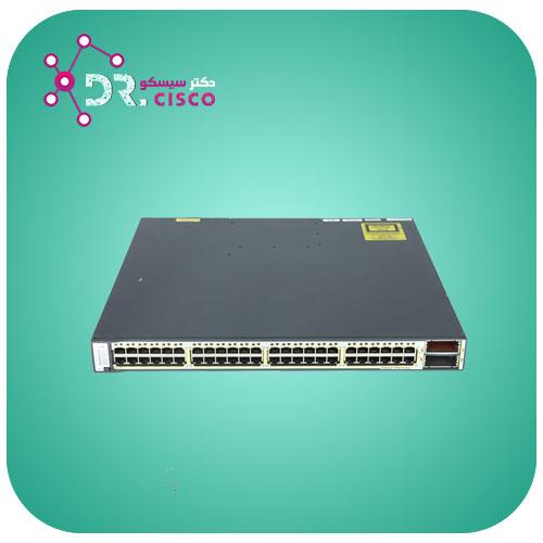 سوئیچ سیسکو CISCO WS-C3750E-48PD-E