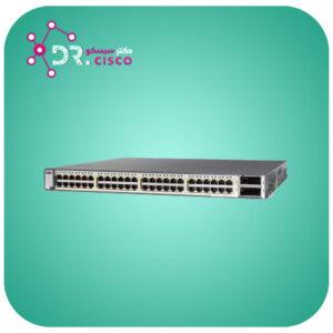 سوئیچ سیسکو CISCO WS-C3750E-48TD-E از محصولات فروشگاه اینترنتی دکتر سیسکو