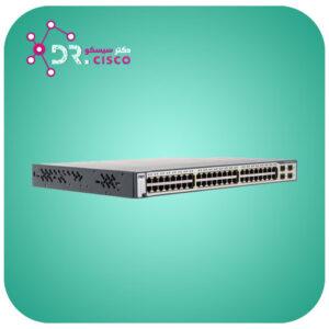 سوئیچ CISCO WS-C3750G-48PS-S از محصولات فروشگاه اینترنتی دکتر سیسکو