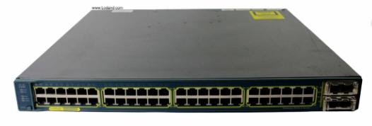 سوئیچ سیسکو CISCO WS-C3560E-48PD-E از محصولات فروشگاه اینترنتی دکتر سیسکو