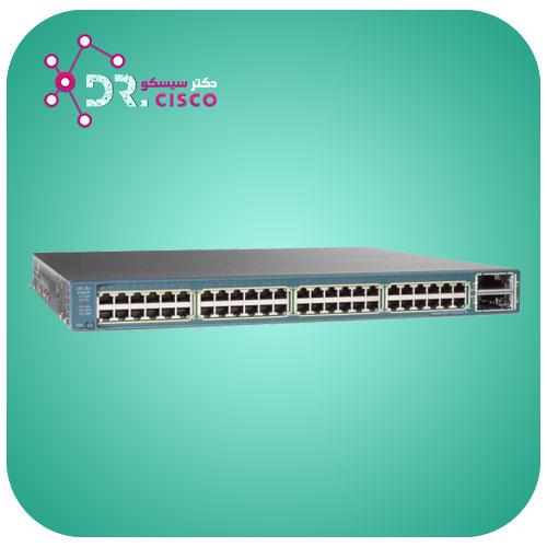 سوئیچ سیسکو CISCO WS-C3560E-48TD-E از محصولات فروشگاه اینترنتی دکتر سیسکو