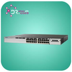 سوئیچ سیسکو WS-C3850-24P-E از محصولات فروشگاه اینترنتی دکتر سیسکو