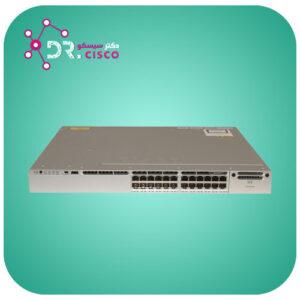 سوئیچ سیسکو WS-C3850-24P-S از محصولات فروشگاه اینترنتی دکتر سیسکو