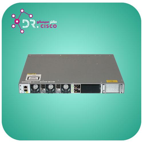 سوئیچ سیسکو CISCO WS-C3850-48P-S از محصولات فروشگاه اینترنتی دکتر سیسکو